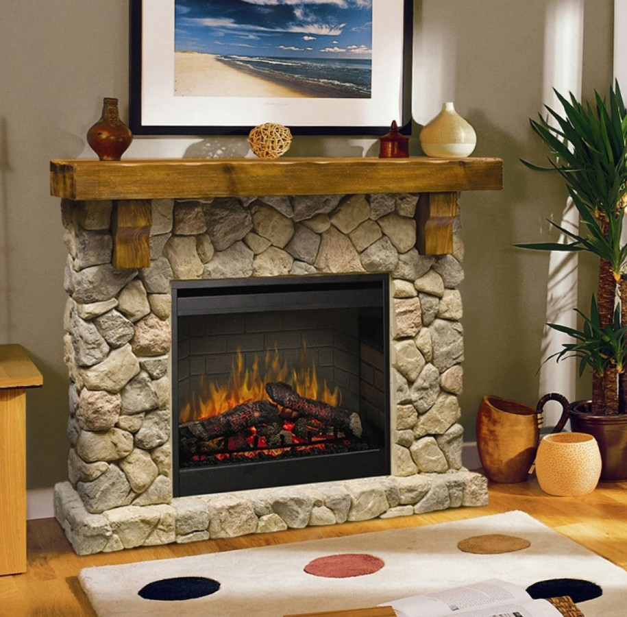 Mantel decorating ideas for a sophisticated living room lifestuffs - Fireplace mantel designs in simple and sophisticated style ...