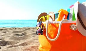 Summer is coming up - Here are the beach bag essentials