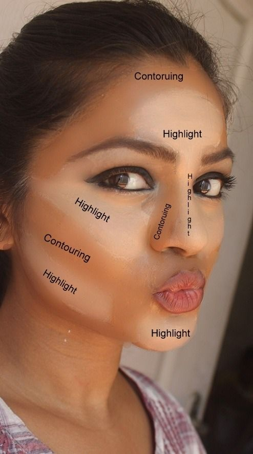 How to become a makeup expert - Highlighting and contouring