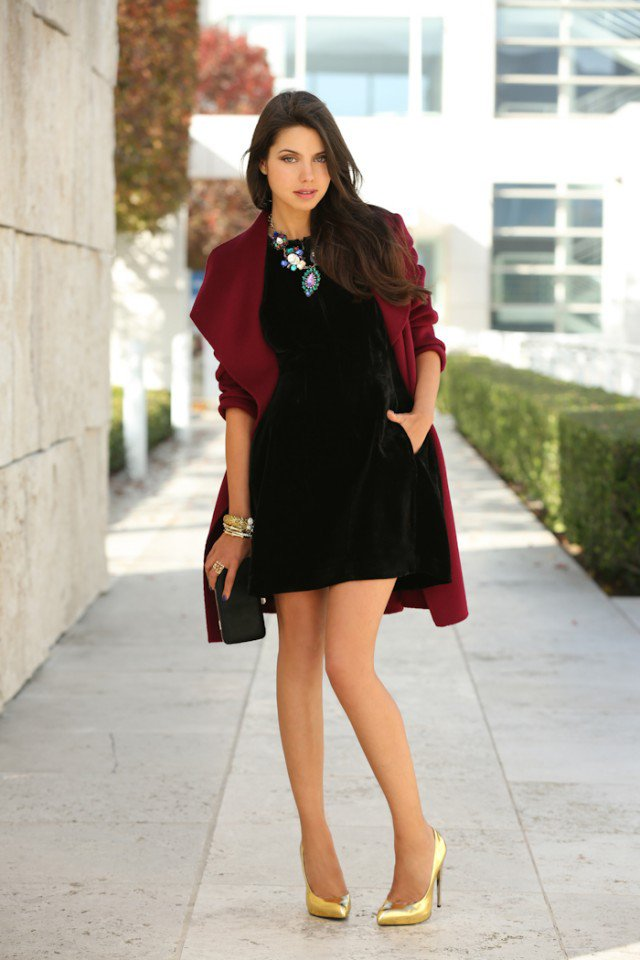 Velvet - A perfect fabric for fall