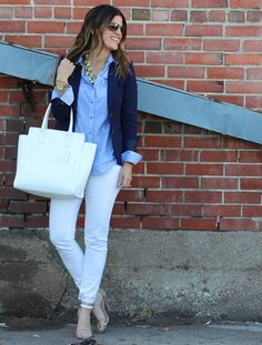 Stylish blue blazer - Amazing outfits